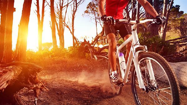 Fahrrad und Fitness